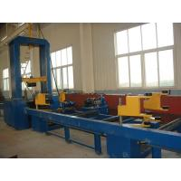 Buy cheap H Beam Assembly Machine Hydraulic Synchronize Clamp Flange Web Plate Combined Made in China from wholesalers