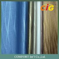 0.6mm - 1.2mm PVC Leather Colorful Many Different Design For Upholstery Fabric Manufactures