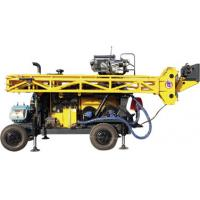 HWL Drilling Depth 1000m  Wheel Trailer Hydraulic Core Drilling Machine Manufactures