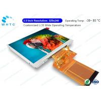 Quality 3.5 Inch Touch Screen Lcd Monitor Industrial Panel Mount Wide Operating Temperature for sale