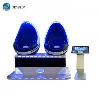 Skyfun Immersive Double Seat 9D VR Egg Chair Second Generation Deepoon Glasses Manufactures
