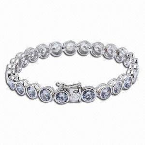 Bracelet, Made of 925 Sterling Silver Manufactures
