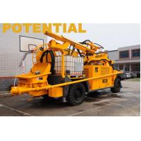 Wet Concrete Shotcrete Machine , Shotcrete Robot KC3019 For Railway Tunnel Manufactures