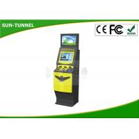 ATM bill Self Service Ticket Machine printing photo booth , Free Standing Kiosk Manufactures