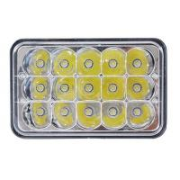 5 Inch 45W Square Jeep LED Headlights High Low Beam Jeep Front Lights Manufactures