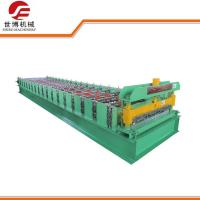 Twin Rib Roofing Sheet Roll Forming Machine / Metal Deck Roll Forming Machine Manufactures