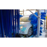 Express Tunnel Car Wash Plant , Vehicle Washing Equipment Environmental Protection Manufactures