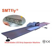 Multi-blades V Cut PCB Depaneling Machine for Depaneling LED Lighting Aluminium,SMTfly-3S Manufactures