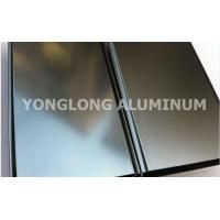 Polished Coated Aluminum Window / Door Frame Profile T5 , T6 Temper Manufactures
