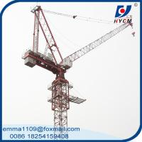 QTD160-5030 Luffing Jib Tower Crane 12t Max. load and 3.0t Tip Load Manufactures