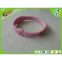 China Soft Non-Toxic Silicone Energy Bracelet Colorful Comfortable For Gift on sale