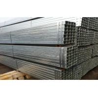 China Electric Resistance Welded Galvanized Steel Square Tubing Q195 Q235 BS1387 DIN1626 on sale
