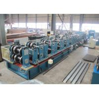 Cr12 Mould Steel C Shape Galvanized Steel Purlin Forming Machine With Life Time Service Manufactures