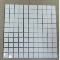 Mcrocrystal White Glass Stone Mosaic Tiles For Wall Tiles Manufactures