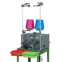Cotton Thread Automatic Bobbin Winding Machine 0.2kw With Electronic Counter Manufactures
