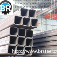 Buy cheap hollow section tube,Rectangular&square hollow section tube,anti-rust oil, black from wholesalers