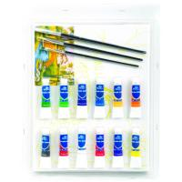 Rectangular Drawing Art Sets , Fashion Art Studio Paint Set For Adults Manufactures