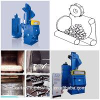 Q3210 tumble belt type shot blasting machine/shot blaster Manufactures