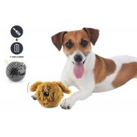 Small Bouncy Dog Entertainment Toys , Cool Plastic Dog Throw Toys For Dog Playing Manufactures