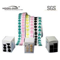 Colored Double Sided Hook And Loop Dots For Curtains 1.6m ~ 12.5cm Width