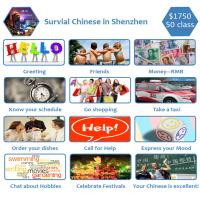 Audio-visual Survival Chinese Lesson , Practice Speaking And Listening Manufactures