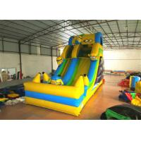 Hot sale digital printing inflatable the minions standard dry slide inflatable single dry slide Manufactures