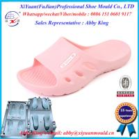 Factory Price one Color Eva slipper Mould, EVA injection shoe moulds, EVA shoe sole molds Manufactures