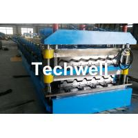 Chain Transmission Double Layer Roll Forming Machines For Corrugated Sheets Manufactures