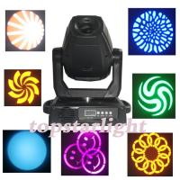 China 3 Facet DMX 90w / 100w Gobo Moving Head Led Stage Lights Fixture wholesale
