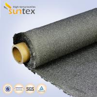 800C Degree Stainless Steel Wire Fiberglass Fabric Roll For Thermal Insulation Mattress Manufactures