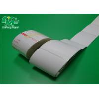 Eco Sticker Thermal Label Printer Rolls Customised Size Color For Closing Bubble Bags Manufactures