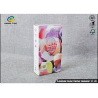 Embossing Paper Cosmetic Packaging Boxes CMKY Pantone Printing OEM Accepted Manufactures