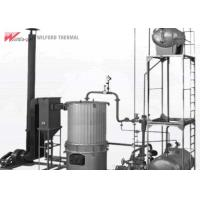 Gas Fired Thermal Oil Heater , Heat Transfer Oil Boiler Small Heat Loss Manufactures