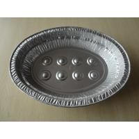 China 6L Oval Large disposable aluminum roasting pans For Baking Turkey Roaster on sale