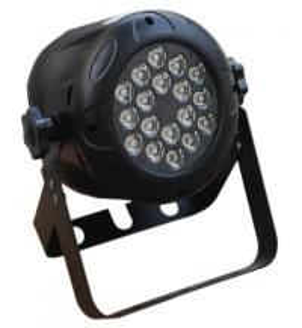 Indoor 18 x 3w Plastic Led Par Light Dj / Disco Stage Lighting Fixtures High brightness Manufactures