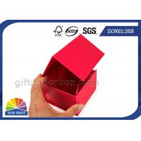 Custom Flat Fold Up Box / Foldable Paper Box Logo Printing Easy Shipping Manufactures