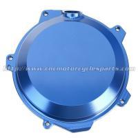 CNC Milling Dirt Bike Parts / KTM Clutch Cover with Aluminum Alloy material Manufactures