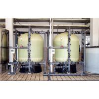 30 - 100 TPH Water Softener Plant FRP / Stainless Steel 304 Material