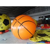 Custom 0.18mm Pvc Basketball Helium Balloon Advertising Inflatables For Promotion Manufactures