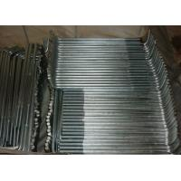Carbon Steel Foundation Anchor Bolts Hold Down L Type Hot Dipped Galvanized