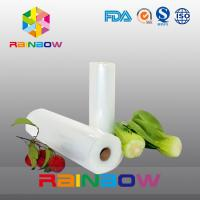 China Eco Friendly Fruit Food Vacuum Seal Bags With Roll / Vegetable Mesh Bag on sale