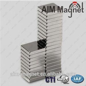 China Rare earth 12x6x1 block n38 neodymium magnet on sale