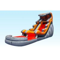 Lava Tidal Wave Inflatable Water Slides For Adult And Kids , Outdoor Games Manufactures