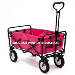 Gear Collapsible Folding Utility Wagon Garden Cart, Beech Buggy Shopping Cart Manufactures