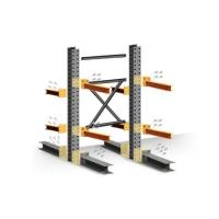 Buy cheap OEM Industrial Storage Rack / Heavy Duty Steel Cantilever Rack For Tube Pipe from wholesalers