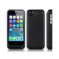 Multi Color Thin  4200mAh Phone Charging Case IPhone 5 With 5V 1.0A Out / In Put Manufactures