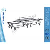 Portable Folding Emergency Patient Transport Stretcher With Side Rails Manufactures