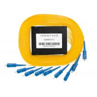 FTTH System Fiber Optic Splitter Box 1X8 Structure with SC UPC Connector Manufactures