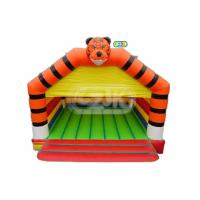 Commercial tiger jumper inflatable bouncer jumping bouncy castle bounce house Manufactures