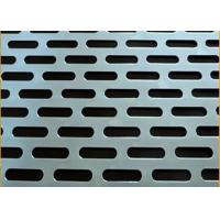 China Standard Ba Surface Fmx00481 Stainless Steel Perforated Sheet For Fencing on sale